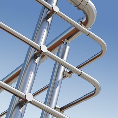 Aluminium railing systems 14