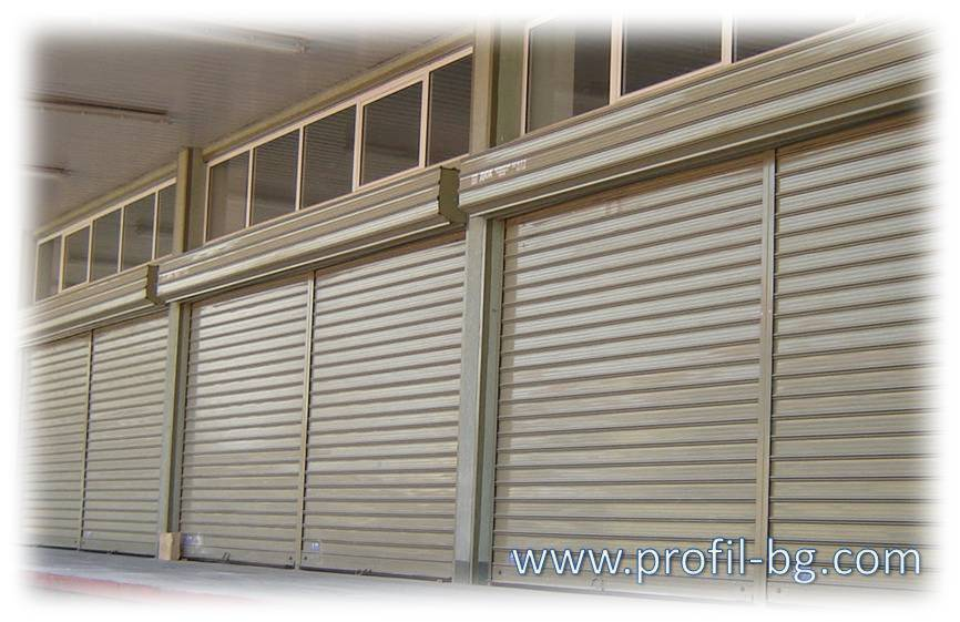 Steel roller garage doors 2