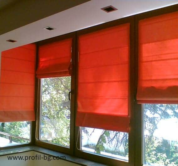 Roman style blinds 3
