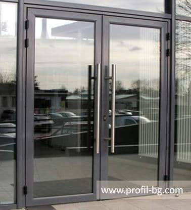 Entrance doors - PVC & aluminium 14