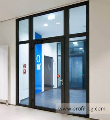 Entrance doors - PVC & aluminium 16