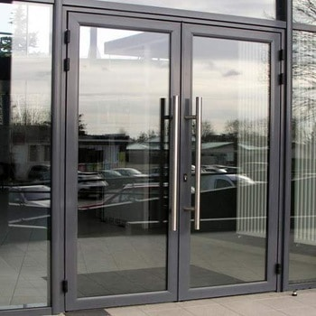 Front doors with decorative thermo panel 38