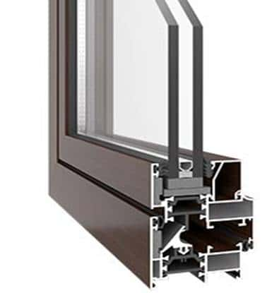 Entrance doors - PVC & aluminium 11
