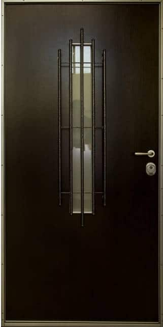 Armored steel doors for a house 30