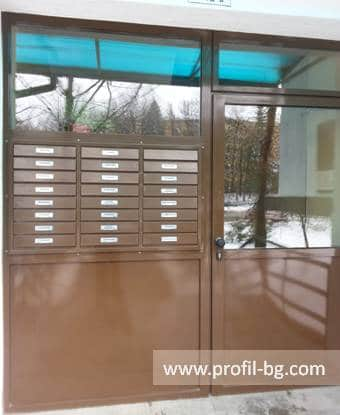Entrance doors - PVC & aluminium 34