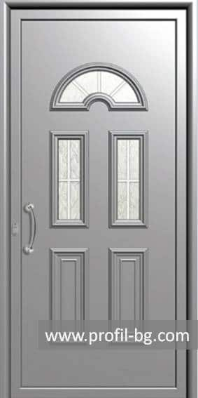 Front doors with decorative thermo panel 7