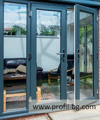 Entrance doors - PVC & aluminium 5