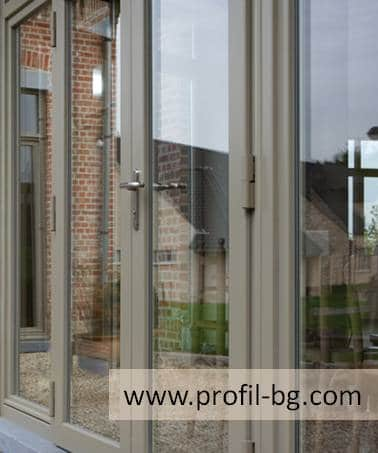 Entrance doors - PVC & aluminium 10
