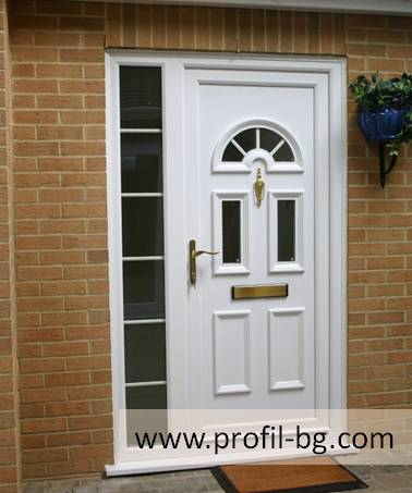 Entrance doors - PVC & aluminium 7