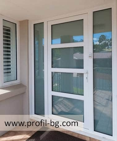 Entrance doors - PVC & aluminium 9