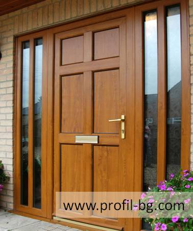 Entrance doors - PVC & aluminium 6