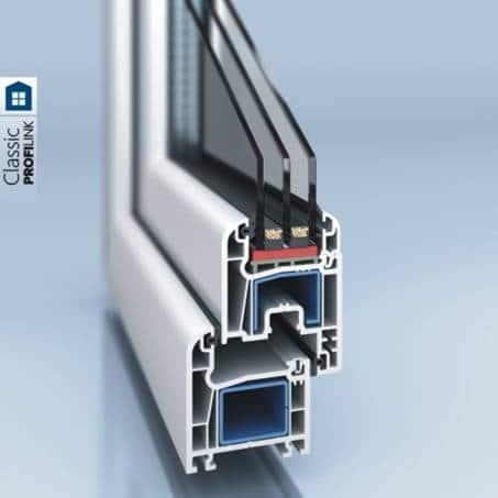 PVC window and door system PROFILINK 5