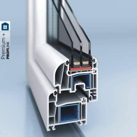 PVC window and door system PROFILINK 9