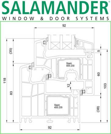 Salamander - PVC windows and doors 11