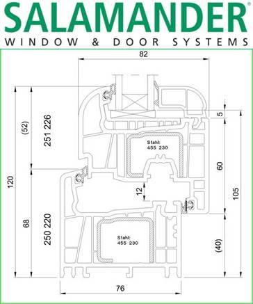 Salamander - PVC windows and doors 8
