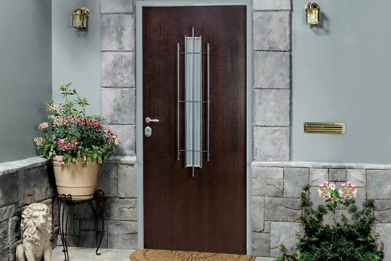 Armored steel doors for a house 24