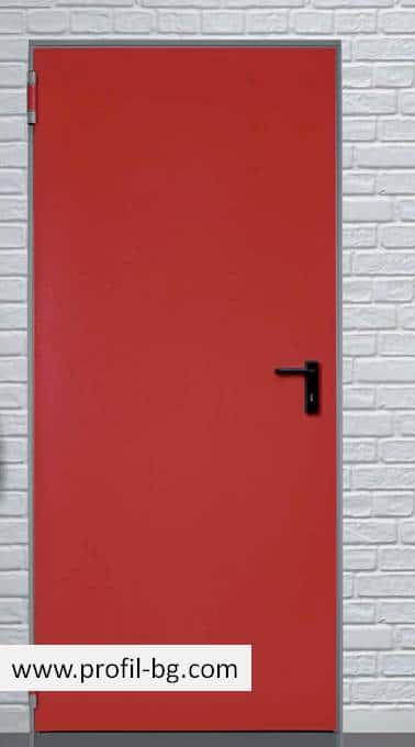 Метални врати за обща употреба 8