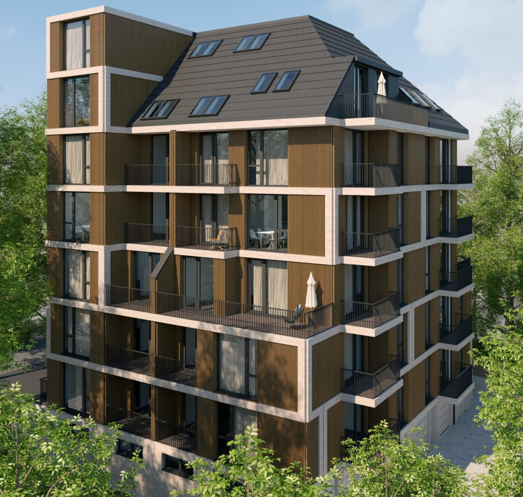 Жилищна сграда от най-висок клас - MARRONE - Парк Гео Милев 1