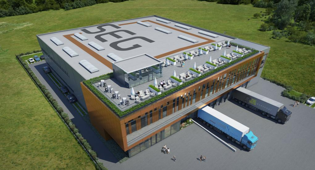 Profil Group has been selected as the contractor of the site - Grecian Gregor Logistic Center (SEG) 10