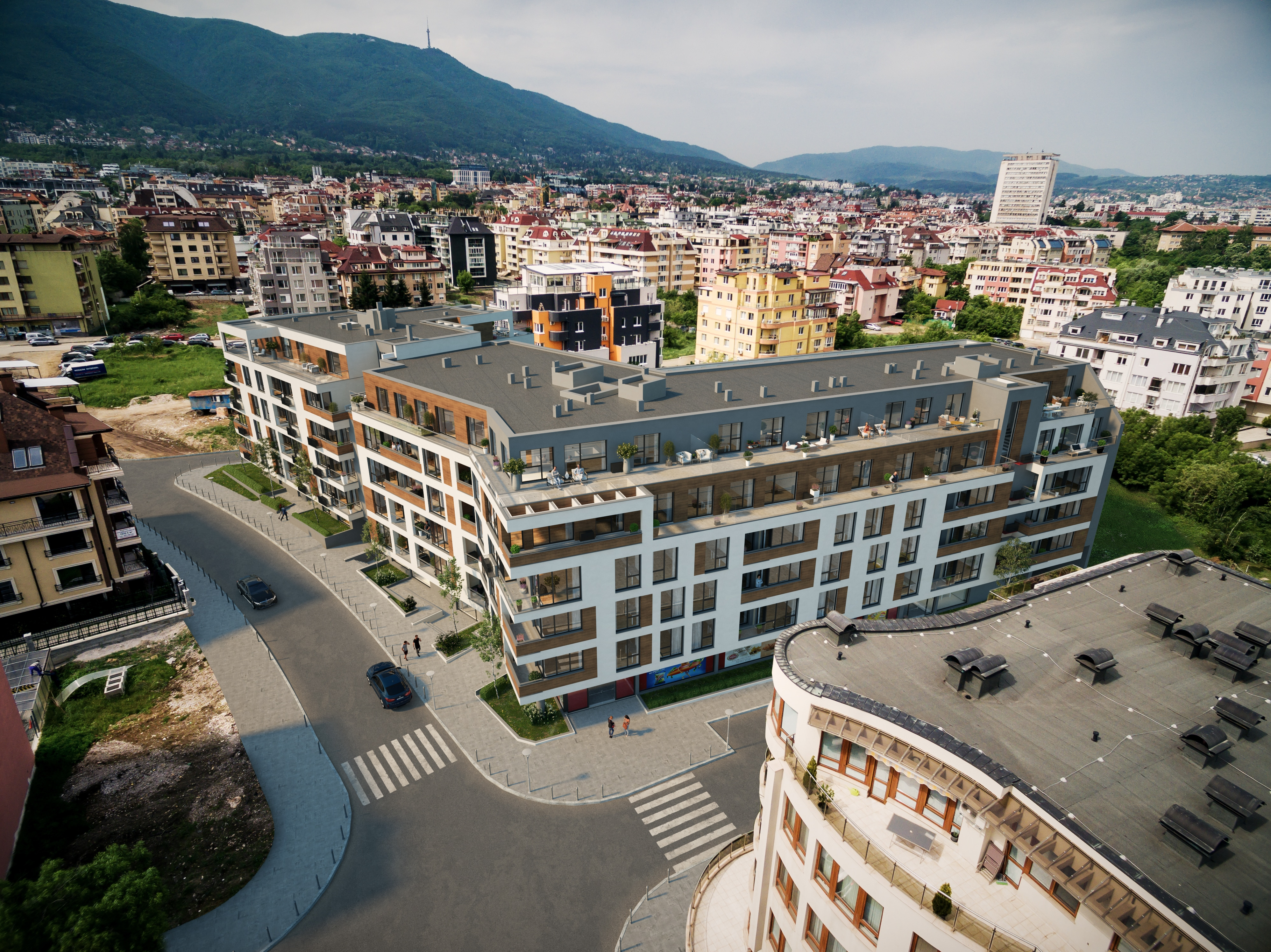 "Residential building ""Amur Residence"" - luxury complex in Sofia near Bulgaria Blvd. 1"