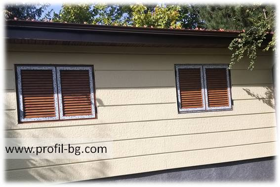 Shutters for windows 8
