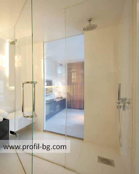 Glass shower cabin and glass shower enclosure 47