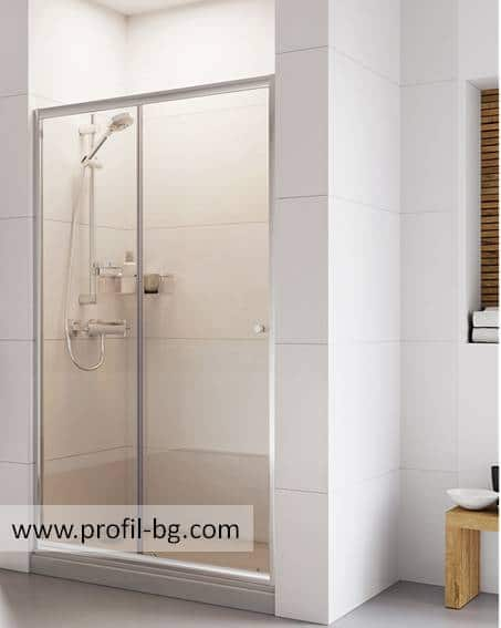 Glass shower cabin and glass shower enclosure 53